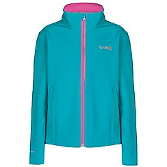 Regatta - Girls Aqua(prtypk) kids canto jacket