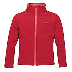 Regatta - Red/  pink kids canto jacket