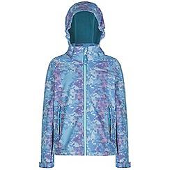Regatta - Kids Aqua clopin wind resistant printed jacket