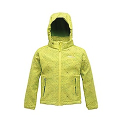Regatta - Lime kids clopin jacket