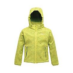 Regatta - Lime kids clopin jacket