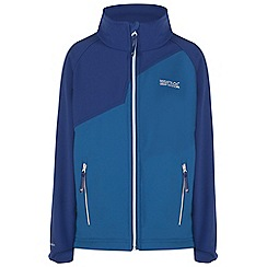 Regatta - Boys Blue vargo softshell jacket