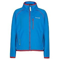 Regatta - Kids Blue Limit softshell jacket