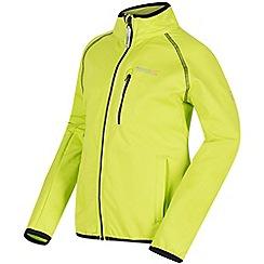 Regatta - Green 'Limit' softshell jacket