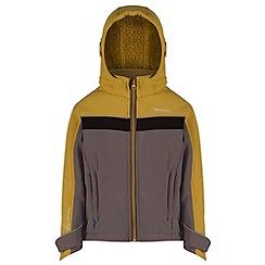 Regatta - Kids Grey Drizzle softshell jacket