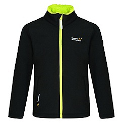 Regatta - Black 'Tato' IV softshell jacket