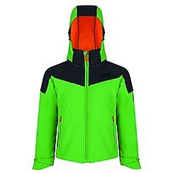 Regatta - Green 'Acidity' softshell jacket