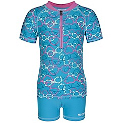 Regatta - Kids Aqua wader swimwear set