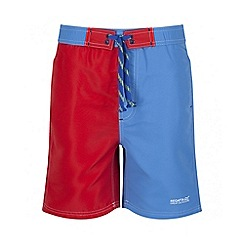 Regatta - Boys' red Skooba swim short