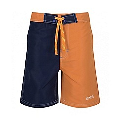 Regatta - Boys' orange skooba swim short