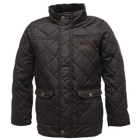 Regatta - Black / black bruiser jacket