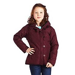 Regatta - Dk burgundy kizi jacket