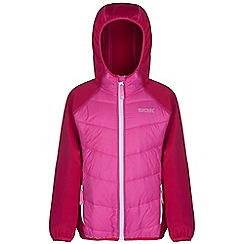 Regatta - Girls Jem/dk ceris kielder quilted super stretch jacket