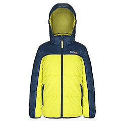 Regatta - Girls Neon glow giant quilted jacket