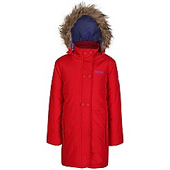 Regatta - Girls Red wishfull quilted parka