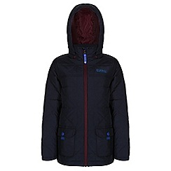 Regatta - Boys Navy bashfull quilted jacket