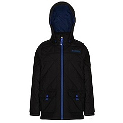 Regatta - Boys Black bashfull quilted jacket