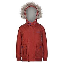 Regatta - Boys Burnt orange whackie water repellent jacket