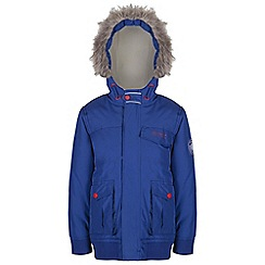 Regatta - Boys Blue whackie water repellent jacket