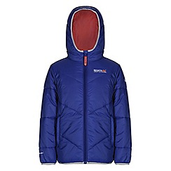 Regatta - Girls Blue icebound quilted jacket