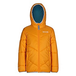 Regatta - Boys Golden yellow icebound quilted jacket