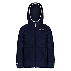 Regatta - Boys Navy icebound quilted jacket