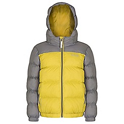 Regatta - Boys Yellow Giant quilted jacket