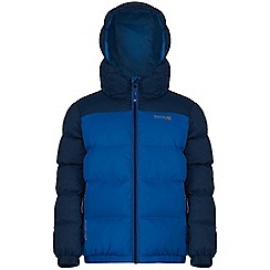 Regatta - Boys Blue Giant quilted jacket