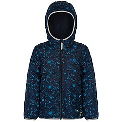 Regatta - Kids Navy Coulby quilted jacket
