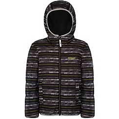 Regatta - Kids Black Coulby quilted jacket
