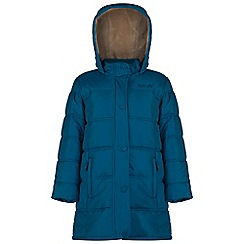 Regatta - Kids Blue Winter hill quilted jacket