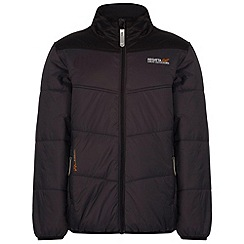 Regatta - Kids Grey Icebound showerproof jacket