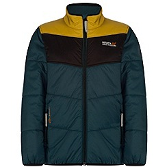 Regatta - Kids Navy Icebound showerproof jacket