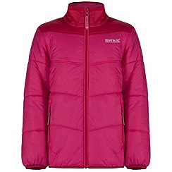 Regatta - Kids Pink Icebound showerproof jacket