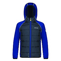 Regatta - Kids Blue 'Kielder' waterproof hybrid jacket