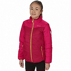 Regatta - Kids Red 'Icebound' lightweight jacket