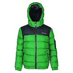Regatta - Kids Green 'Larkhill' quilted jacket