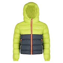 Regatta - Kids Green 'Lofthouse' lightweight jacket'