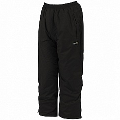 Regatta - Black kids padded chandler overtrouser