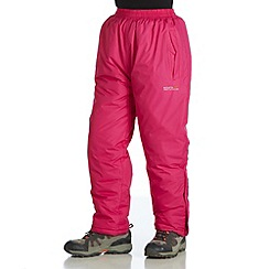 Regatta - Pink kids padded chandler overtrouser