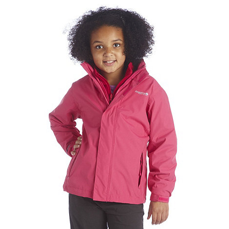 Regatta - Jem pink luca 3 in 1 jacket