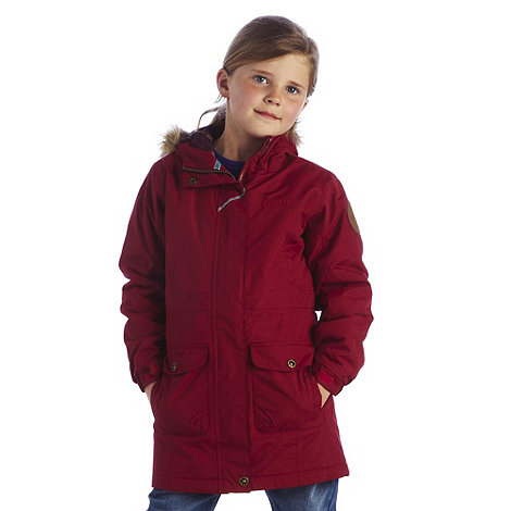 Regatta - Beetroot girls izzie parka