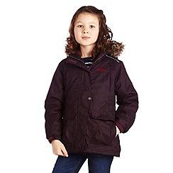 Regatta - Dk burgundy orla jacket