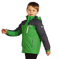 Regatta - Green/grey lighthouse jacket