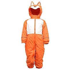 Regatta - Koi orange mudplay waterproof onesie