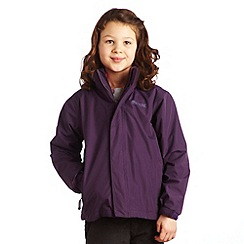 Regatta - Plum wine luca ii 3 in 1 jacket