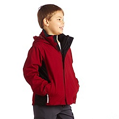 Regatta - Delhired/blk luca ii 3 in 1 jacket