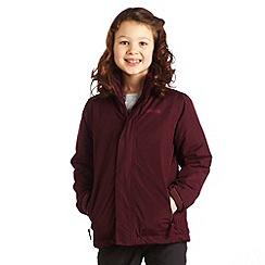 Regatta - Dk burgundy obstacle ii jacket