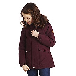 Regatta - Dk burgundy akela jacket