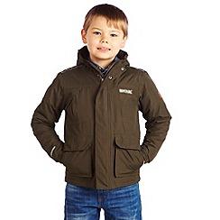Regatta - Dark khaki dewey jacket
